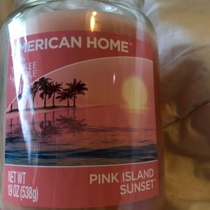 Yankee candle American home scent pink island